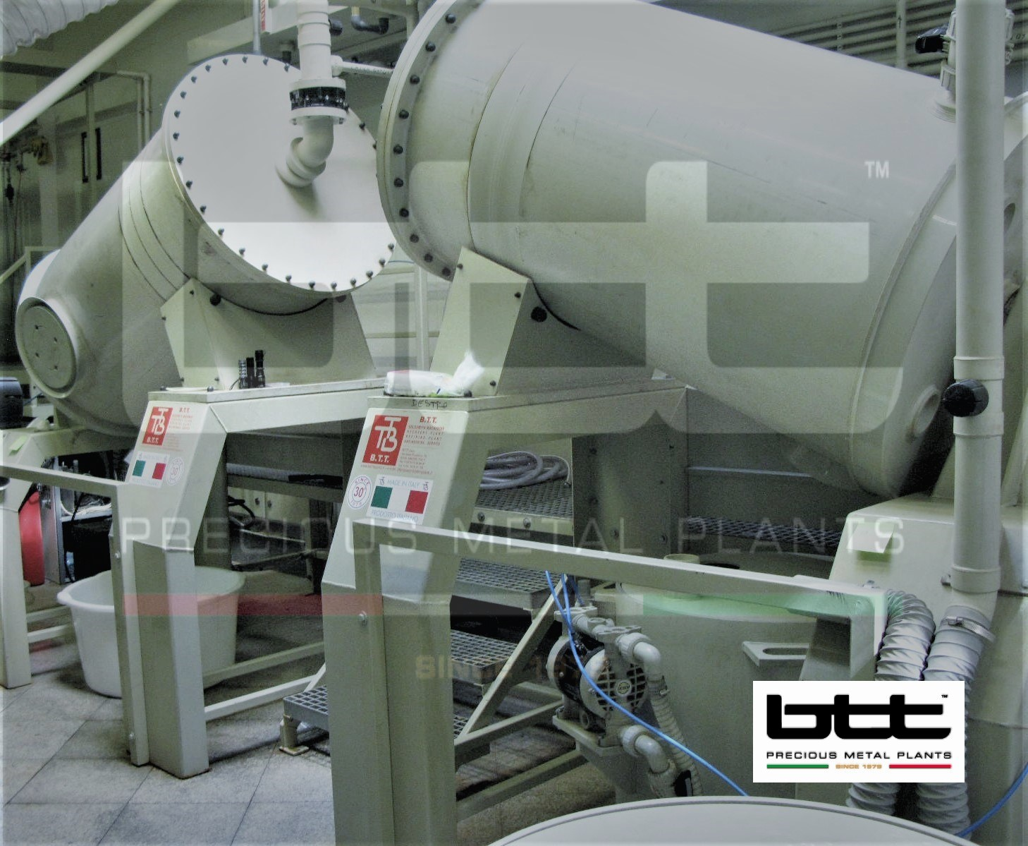 300Kg Self Termic Rotating Dissolution Reactors