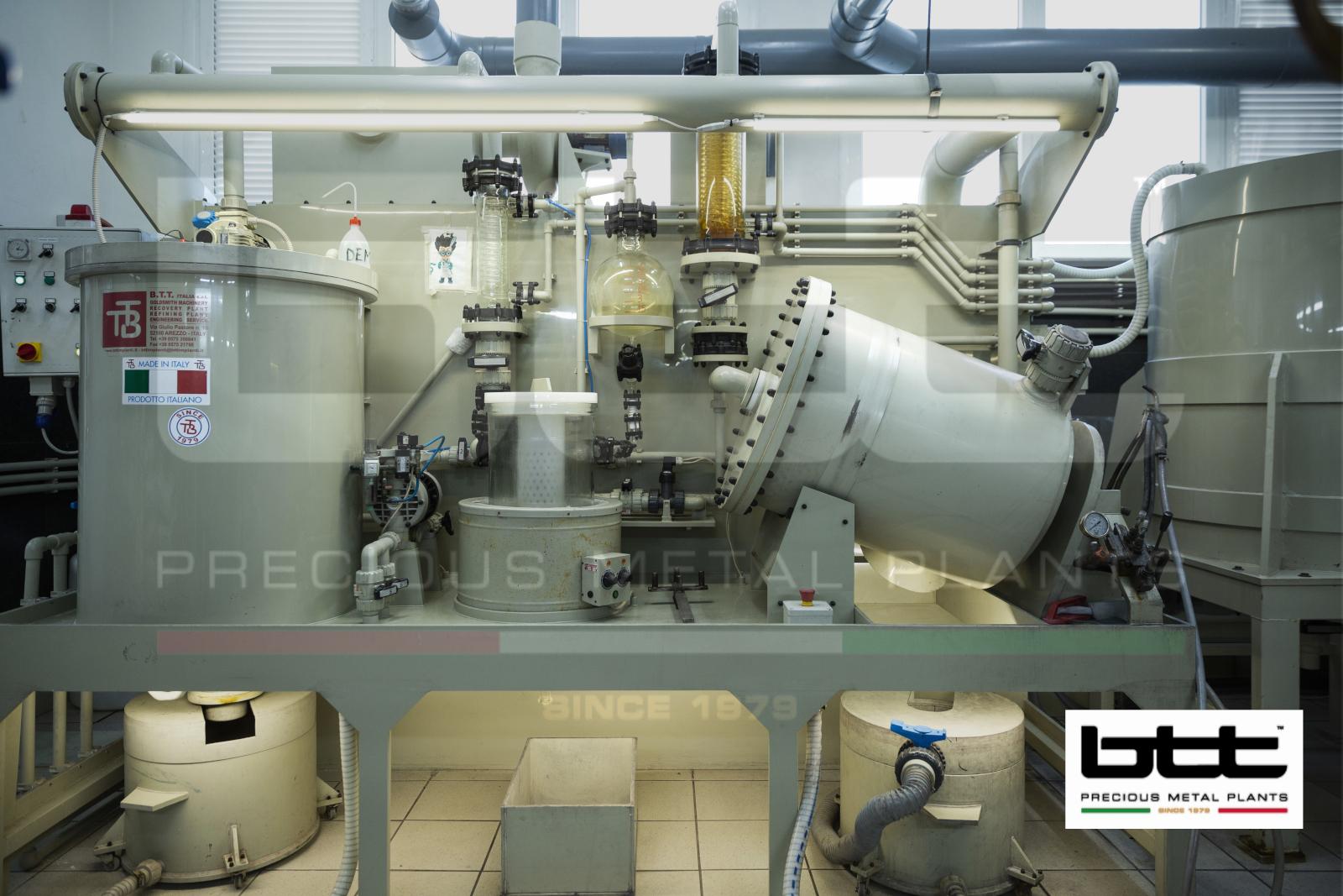 Copact AFFChAu20 Pure Gold Refining Plant