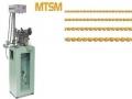 MTSM – PRODUZIONE CATENA CORDA AUTOMATICA Le più produttive macchine al mondo per la produzione di catena corda; la velocità di assemblaggio e saldatura è di 130 maglie al minuto.