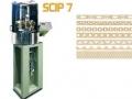 SCIP7 - SALDA/TAGLIA CATENE ALTERNATE IN PARALLELO A MULTIFILE Macchina automatica per saldare, contemporaneamente, catene in file multiple.