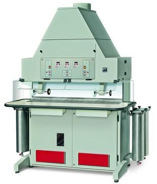 ANGEL 85/2 Banco pulitrice con recupero del metallo prezioso a filtrazione aria-acqua