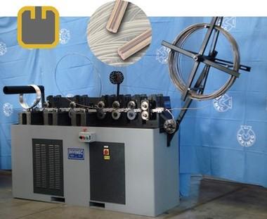 Profilatrice 9 teste per catena vuota/Forming 9 heads for hollow chain