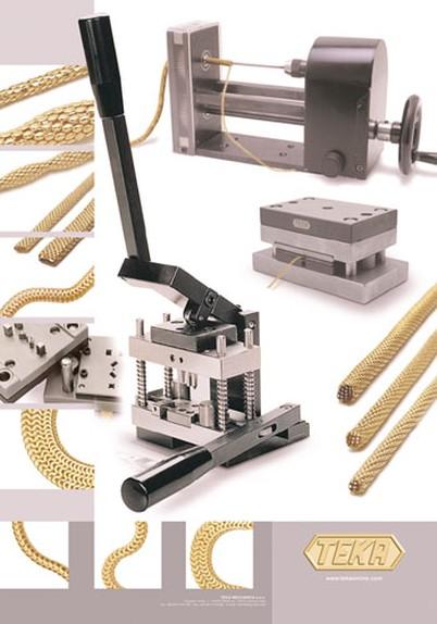 Attrezzatura per catene tubolari e per catene cobra / Equipment tubular chains and chains cobra
