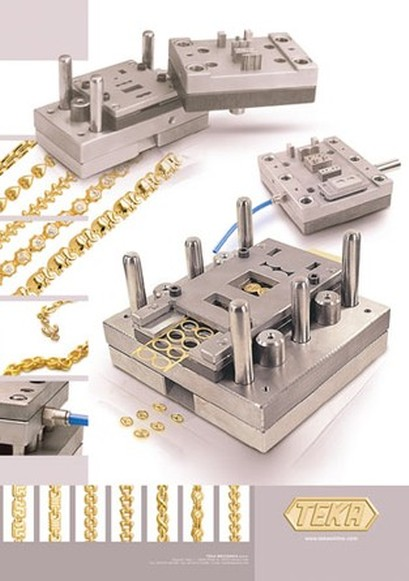 Stampi per catena / Molds for chain